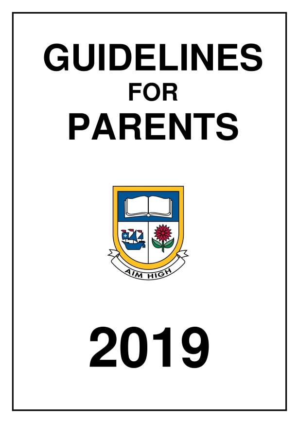 GUIDELINE RULES FOR PARENTS 2019