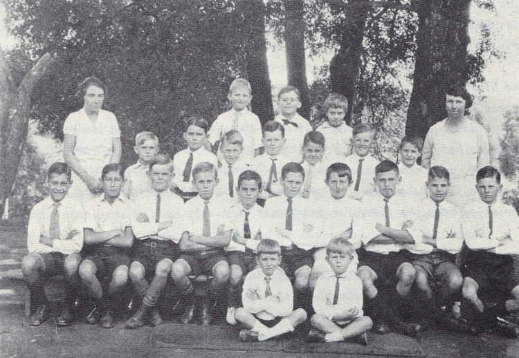 laddsworth boys class of 1930
